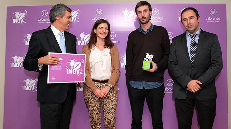 Plastimago vence prémio de inovação da Valorpneu